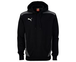 Puma Foundation Hooded Sweat, Kinder Sweatshirt, Schwarz...