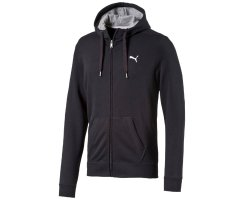 PUMA Herren Jacke ESS Hooded Jacket TR, Black